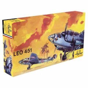 Avion Leo 451 Maquette a monter Heller musée France neuve echelle 1:72