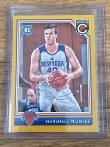 Details about MARSHALL PLUMLEE ROOKIE 2016/17 PANINI COMPLETE BASKETBALL  GOLD#161