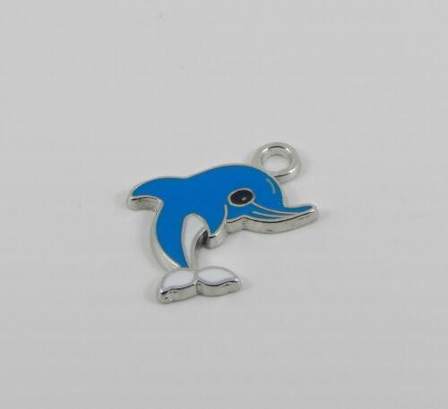 Porte-clés avec émail animal ou Betty Boop charme pivotant homard trousseau