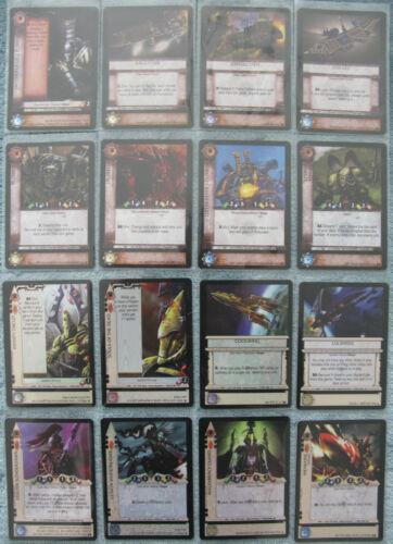 WH40k Dark Millennium Warhammer 40K CCG Fires of Pyrus Rare Cards Part 1//2