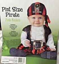 Boys Pirate Costume 2T Toddler Jumpsuit Renaissance Piece Picture Prop
