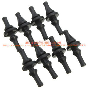 Flexible Anti Vibration Cooling PC Fans Silicone Rubber Pin Rivets Mount Screws