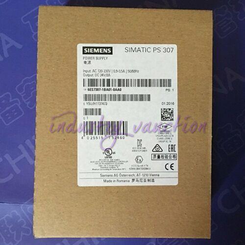 Siemens New 6ES7307-1BA01-0AA0 SIMATIC PS307 power supply 24V//2A
