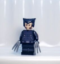 A1238 Lego CUSTOM PRINTED X-MEN DAYS OF FUTURE PAST INSPIRED WOLVERINE MINIFIG