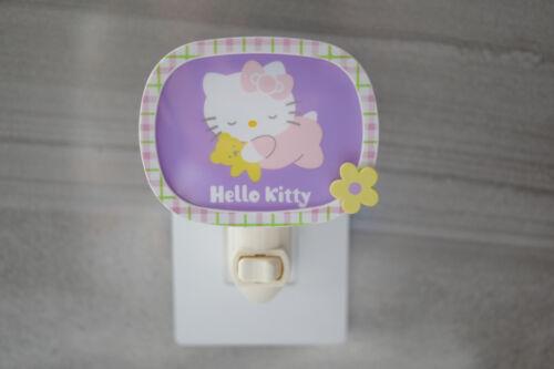 Hello Kitty Adjustable Wall Plug In Night Light Sanrio Nightlight