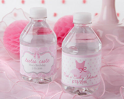 Girl Baby Shower Water Bottle Labels Baby Shower Water Baby Shower Favors Baby Shower Favors Baby Shower Labels