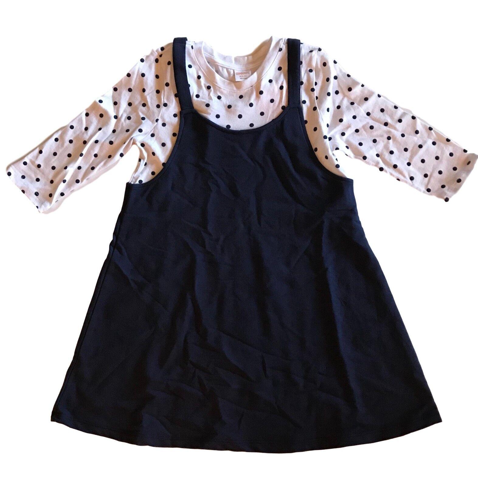 NWT Gymboree Mix N Match Girl Everyday playwear Gum Drop Dress  4,5//6,14