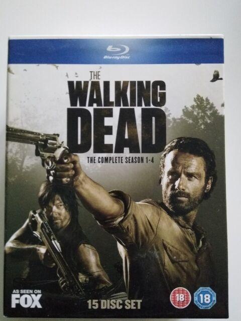 The Walking Dead - Season 1 - 4 - Blu-Ray - Englisch
