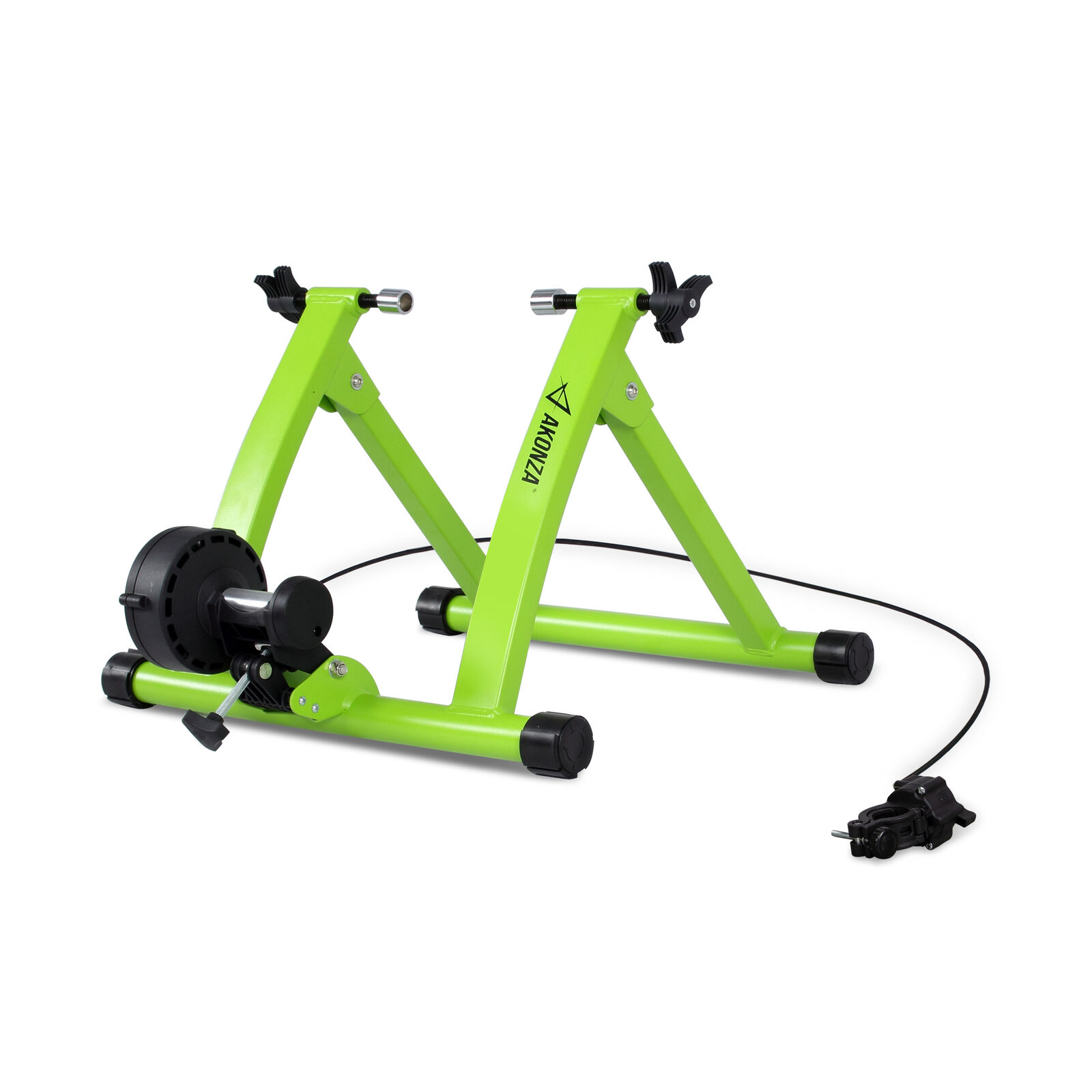 Pro Bicycle  Trainer Stand 6 Levels Resistance Exercise Wheel Magnetic, Green  sale online discount low price
