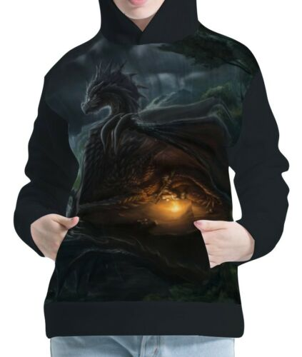 Drachen Damen Kapuzenpullover Hoodie Hoody Sweater wb114 aco40896