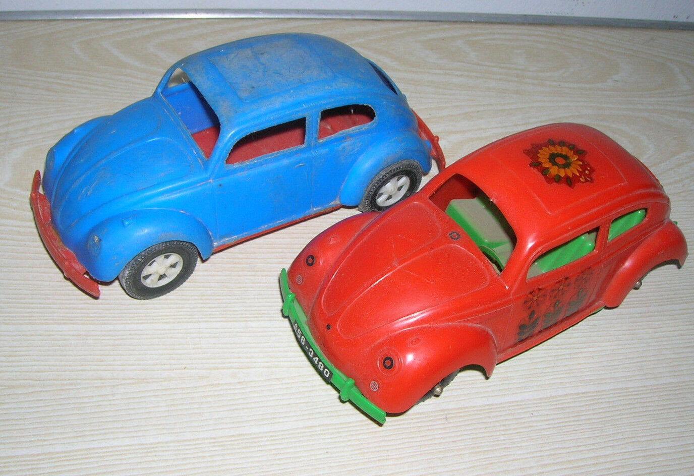 Vintage - - - VW Käfer  Schokoladen Auto  von WADER und  No Name  - 60er 70er Jahre  | Die Farbe ist sehr auffällig  044e37