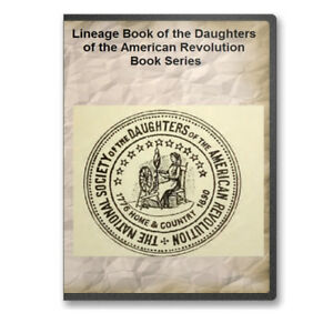 Daughters of the American Revolution Lineage Books (152 Vols.)