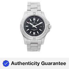 Breitling Colt Mens Automatic Black Dial Steel Bracelet Watch A17388101/B1A1