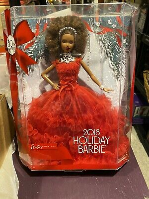 NIB 2018 Holiday Barbie ~ Signature Collection ~ 30th Anniversary Doll ~ African