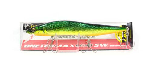 4989 Megabass Vision 110 Oneten Max LBO SW Floating Lure GG Gold Lime