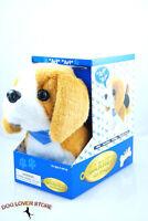 Beagle Dog Lifelike Stuffed Animal Barking Walking Wagging Electronic Toy