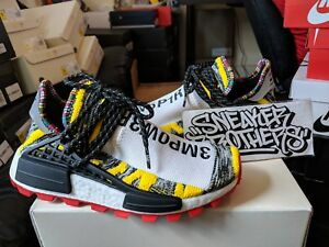 1f83ac385504 Adidas PW Solar Pack Hu NMD Pharrell Williams Human Race Yellow ...