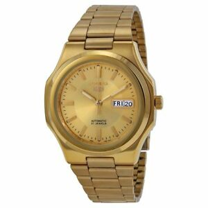 c06599339 Seiko 5 SNKK52 Automatic 21 Jewels Gold Tone Stainless Steel Men's Watch