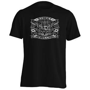 Street-rebellion-cartes-Biker-Crane-Tee-Shirt-Homme-Tank-Top-hh202m