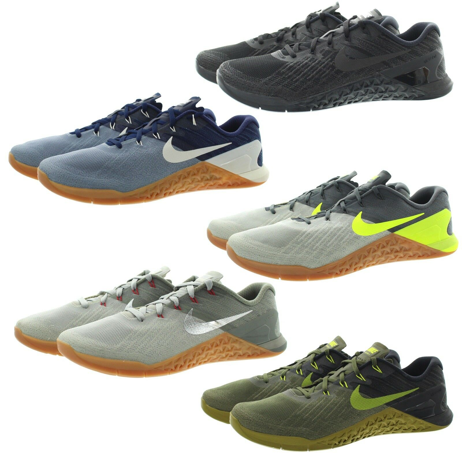 Nike 852928 Mens Metcon 3 Flywire Cross Training Running shoes Sneakers