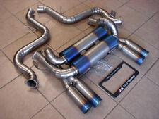 BMW E90 E92 M3 08-13 100% Full Titanium Rear Section Exhaust Systems