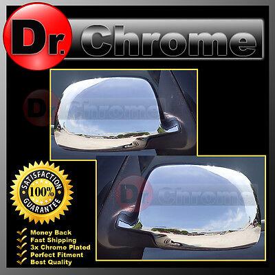 00-06 Chevrolet Avalanche Suburban Tahoe GMC Yukon XL Chrome Mirror Base Cover