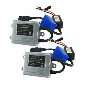 2x ac canbus error free canceller digital hid ballast for vw