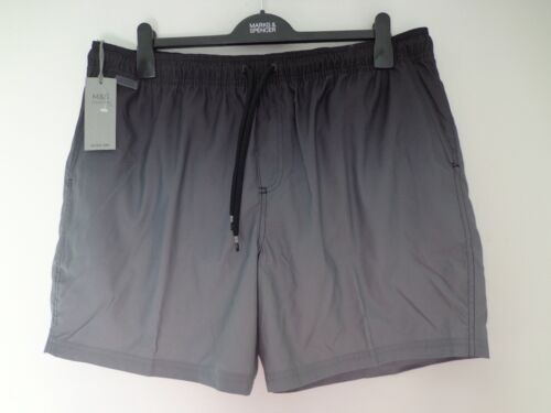 BNWT Homme m/&s collection gamme GRIS MIX Natation Shorts Taille XL