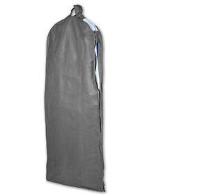 2-Stk-Kleidersack-Huelle-Anzug-Kleiderschutz-60x150x10-Abendkleider-Sichtfenster