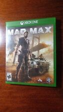 MAD MAX, XBOX One, Rated M, 38 GB Storage Required, Awesome Game, Free Shipping!
