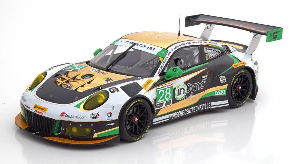 gt3 R #28 1:43 Ixo Porsche 911 991 II 24h Daytona 2017