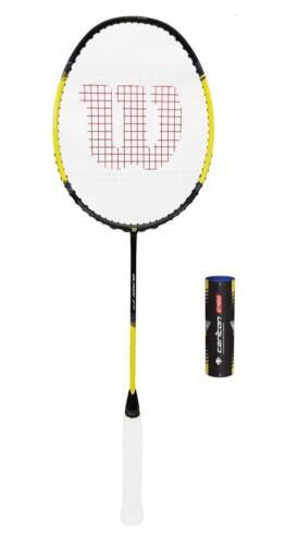 Wilson Blaze Badminton Racket + 6 Shuttlecocks RRP £90
