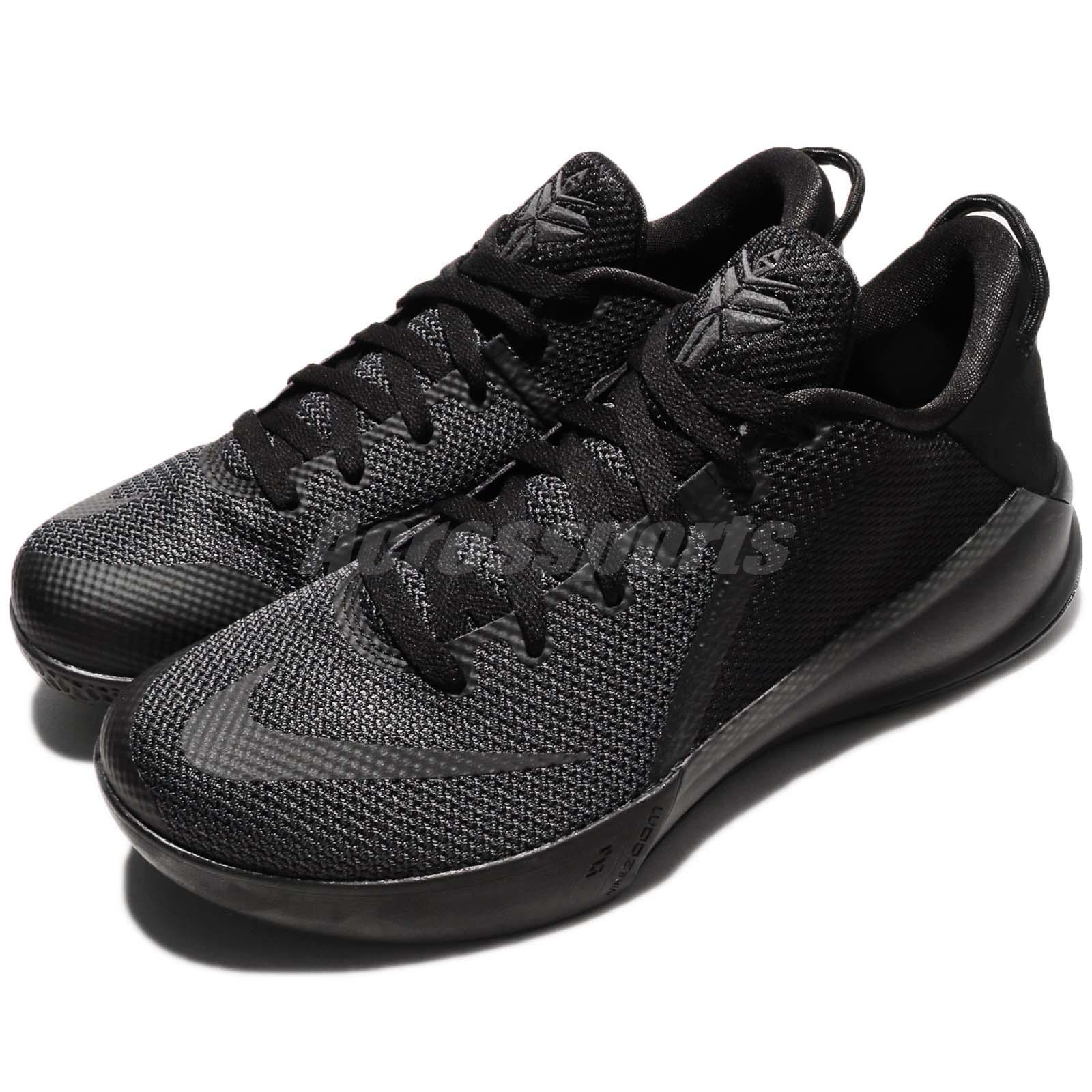 6d8ddebe96f1 Nike Zoom Kobe Venomenon 6 VI EP Bryant Triple Black Men Basketball  897657-001