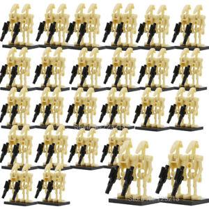100Pcs-Star-Wars-Battle-Droid-Minifigures-Compatible-Minifigures-Army-Builder