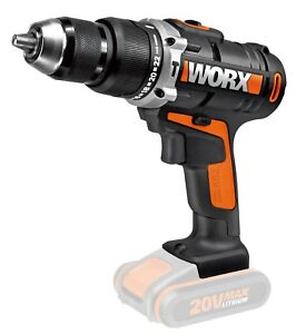WORX 20V 13mm Cordless Hammer Drill (Battery & Charger sold separately)