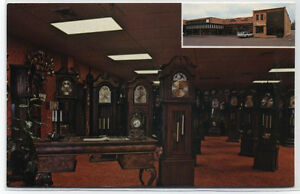 OLD-TIMERS-CLOCK-GALLERY-BERGEN-COUNTY-PARAMUS-NJ-POSTCARD