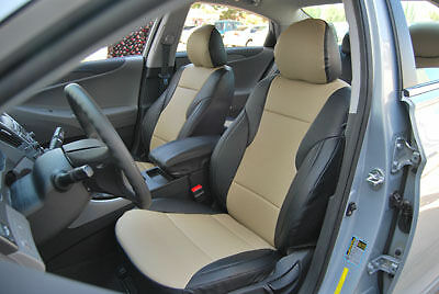 VW EOS 2007-2012 IGGEE S.LEATHER CUSTOM FIT SEAT COVER 13 COLORS AVAILABLE