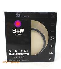 B + W 58MM DIGITAL MRC NANO 007M XSP CLEAR CAMERA LENS FILTER BNIB 1066106