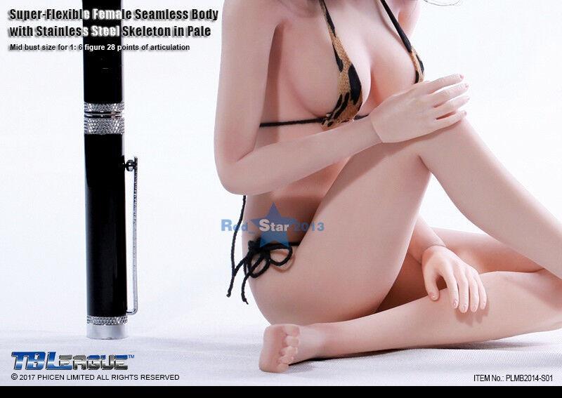 Sexy Cuerpo De Mujer Sin Costuras medio pecho 1 6 escala Phicen Juguetes figura PLMB 2014-S01