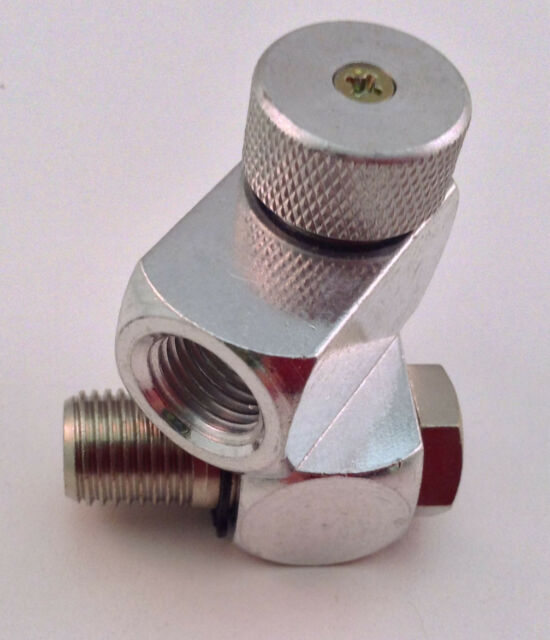"Swivel Air Hose Connector with Regulator 1/4""BSP"