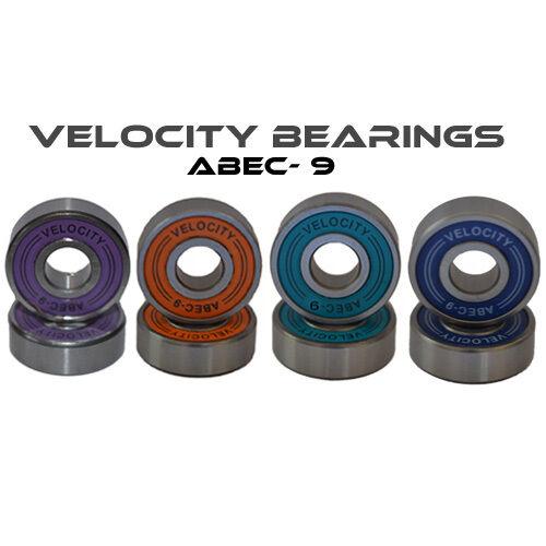 Abec 9 608 Wheel bearings Skateboard scooter derby Quad inline Roller skate 11 7