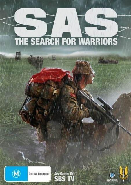 The SAS - Search For Warriors DVD - Region 4