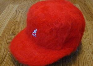 Image is loading Kangol-Headwear-Furgora-Links-Baseball-Cap-Color-Red df8ce4b36b67