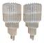 Pair-Of-Murano-Glass-Wall-Sconces-With-Quadriedi-Venini-Style thumbnail 1