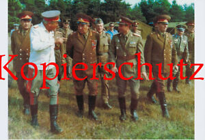 A54-Armeegeneral-Hoffmann-Manoever-NVA-DDR-ca-20x30-cm-UNIKAT