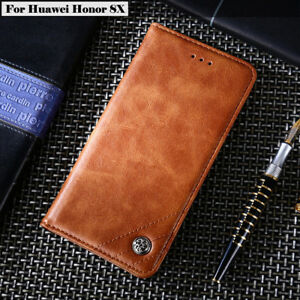 For Huawei Honor 8X 7S 8 9 10 Lite Play Luxury Leather Flip