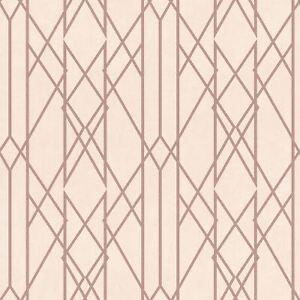 Portefeuille-Lineaire-Papier-Peint-Geometrique-Rose-Dore-Rose-Rasch-215106