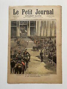 Supplement-Illustre-Le-Petit-Journal-4-11-1893-N-154-OBSEQUES-MAC-MAHON