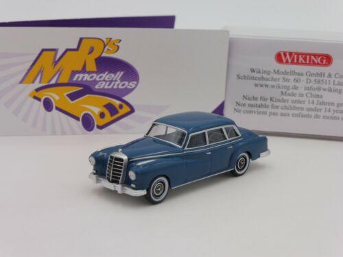 "Wiking 0150 01 # Mercedes Benz 300 Adenauer Bj 1957-62 in /"" grünblau /"" 1:87 NEU"