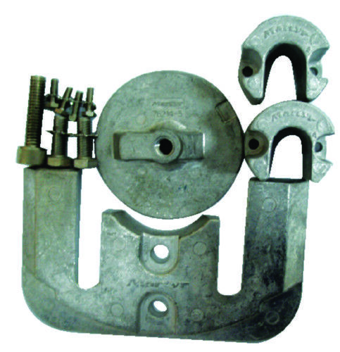 Aluminium 3 Zink Anode Set Mercruiser II 2 & III 3 Aluminium Antriebswelle Komplett Mil-Spec 3036b0